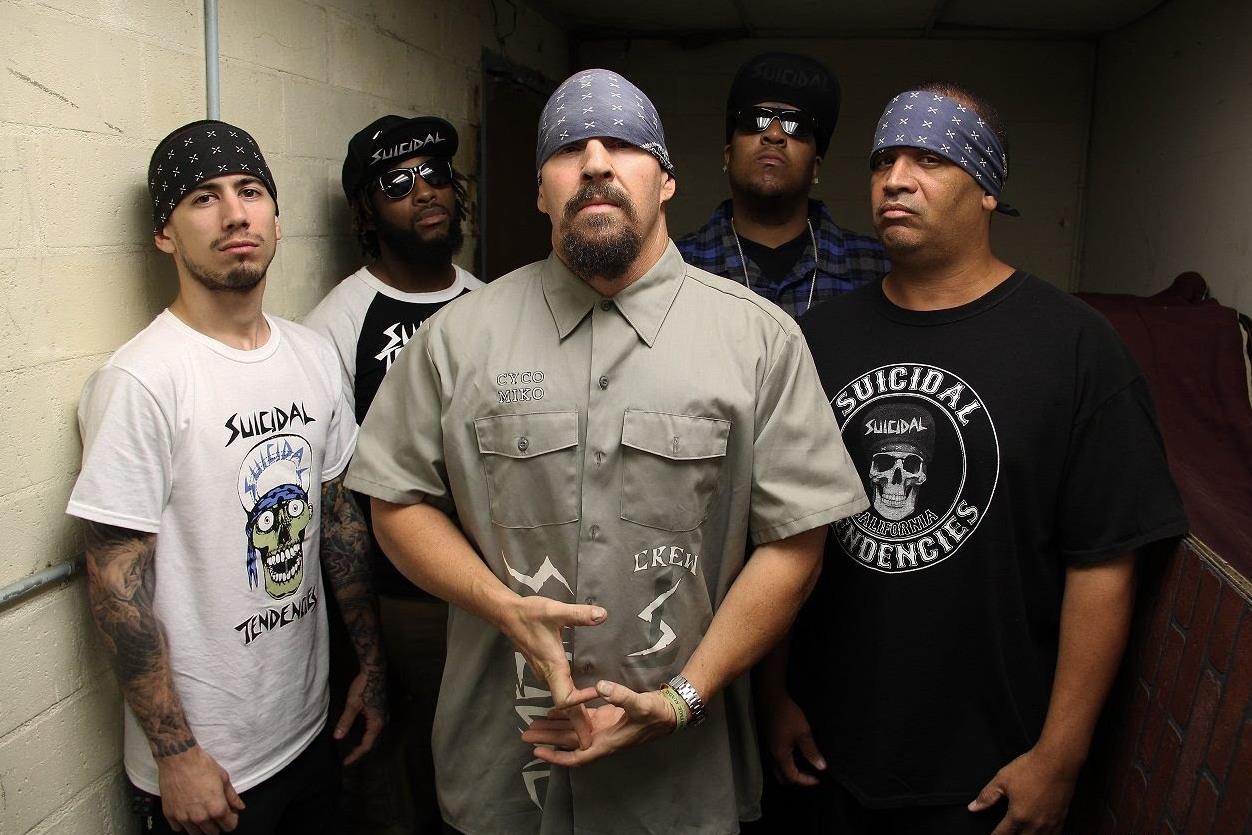 Suicidal Tendencies выступят на разогреве у Slipknot