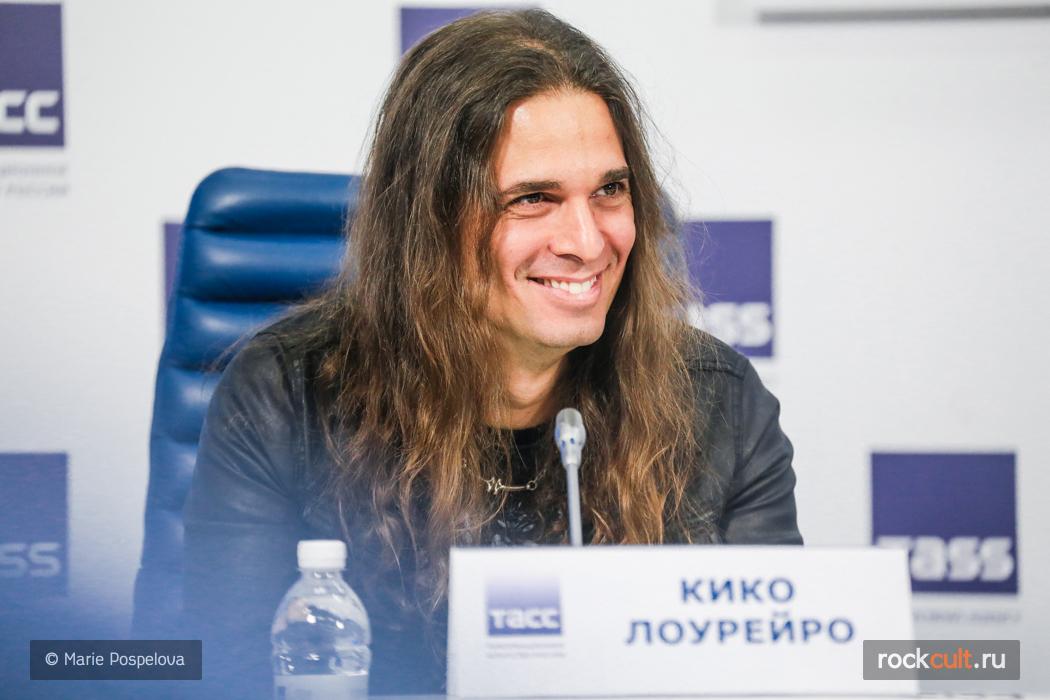 Репортаж | Пресс-конференция Megadeth в Москве | ИТАР-ТАСС | 3.11.2015 фото