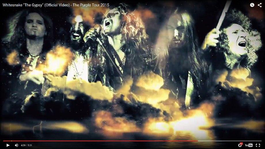 Whitesnake представили видео на песню The Gypsy