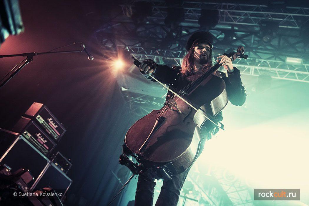 Фотоотчет | Apocalyptica в Москве | Ray Just Arena | 11.12.2015 фото