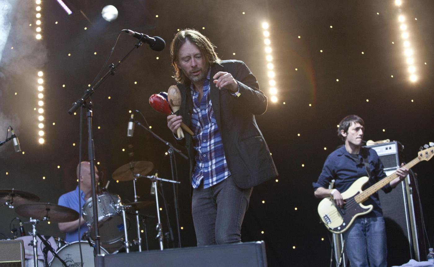 Фронтмен Radiohead Том Йорк выступил с двумя новыми песнями