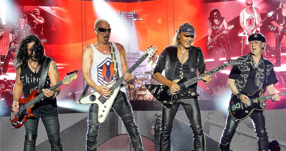 Scorpions выпустили переиздание песни Robot Man