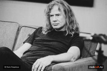 Интервью Dave Mustaine Megadeth фото