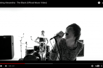 asking alexandria новый клип the black