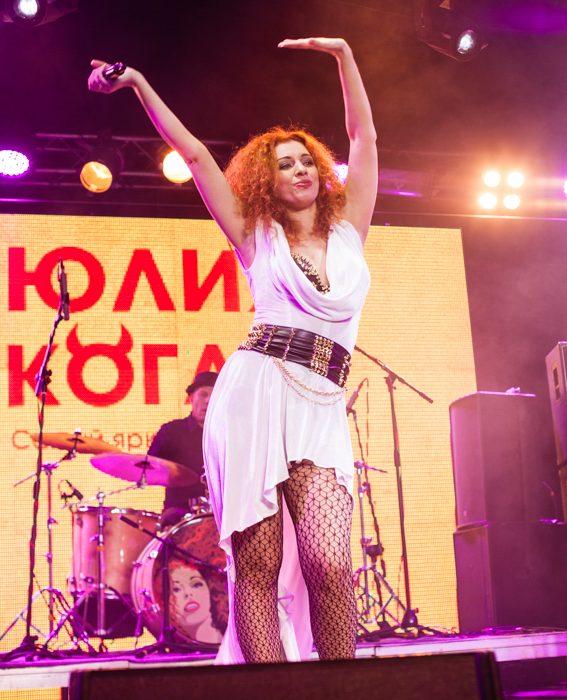 Фотоотчет | Юлия Коган в Москве | Volta | 23.02.2016