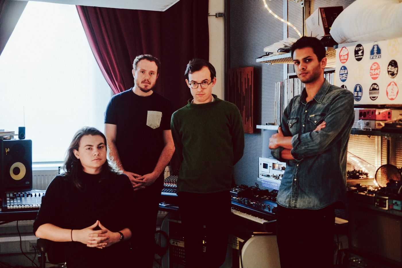 British-band-Bombay-Bicycle-Club-took-time-out