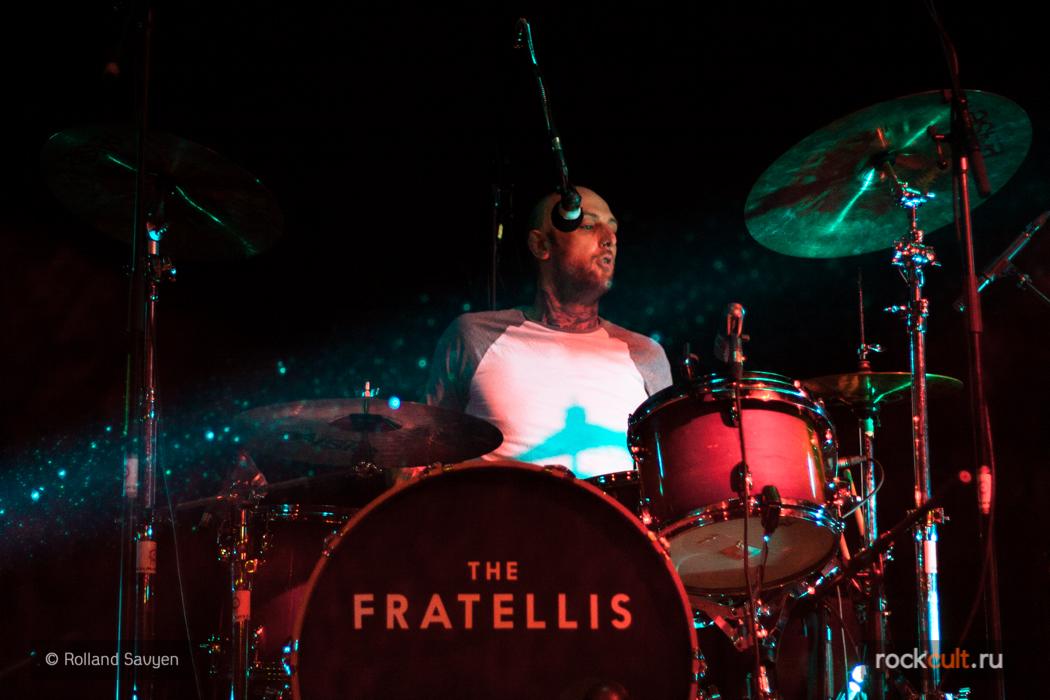 ортаж | The Fratellis в Питере | Космонавт | 20.02.2016