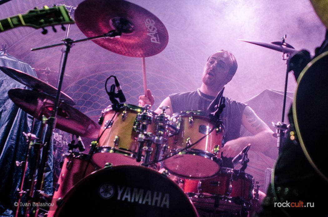 Фотоотчёт | Amorphis в Москве | Volta | 05.02.2016