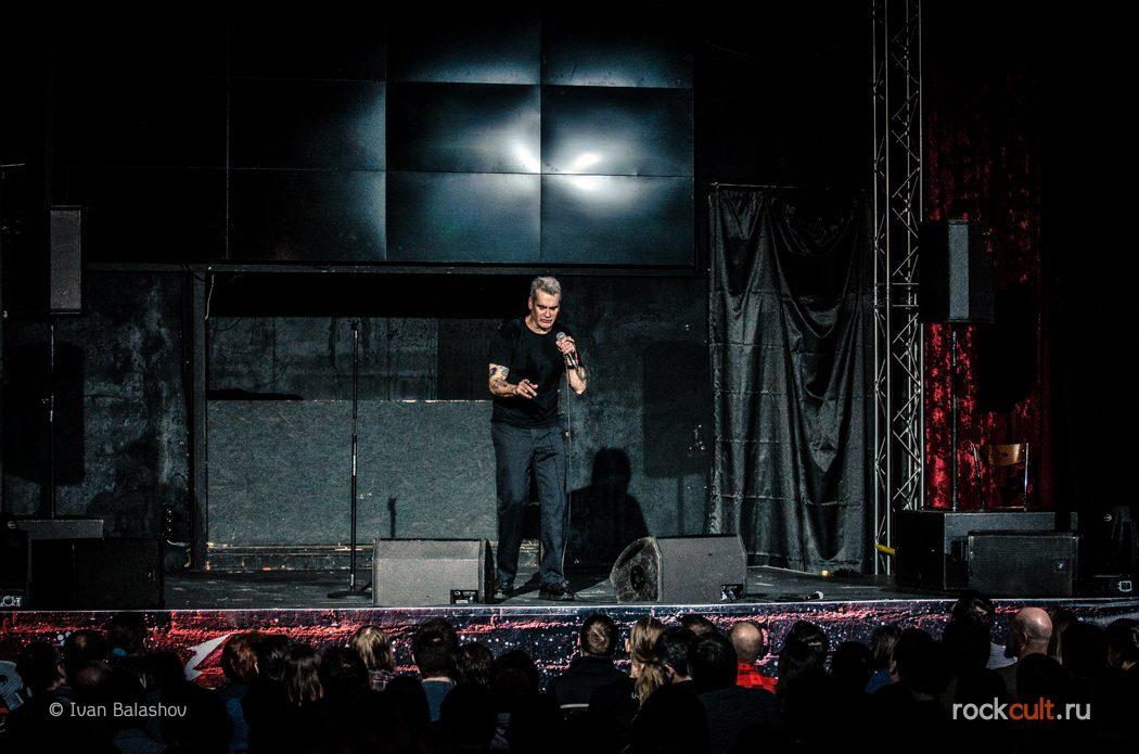 Фотоотчет | Henry Rollins в Москве | КЗ Москва | 2.02.2016