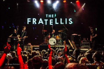 Фотоотчет | The Fratellis в Москве | RED | 19.02.2016