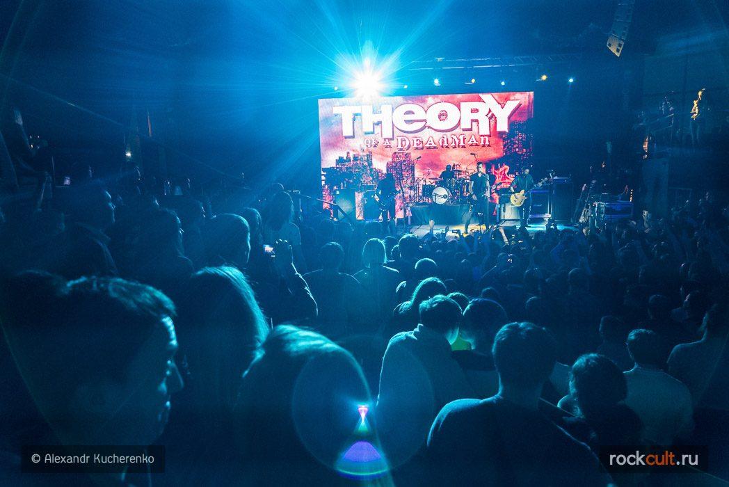 Фотоотчет | Theory Of A Deadman в Питере | Aurora Caoncert Hall | 25.02.2016
