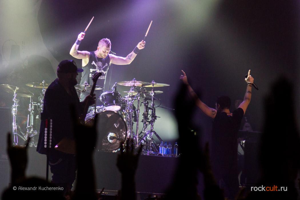 Three Days Grace записали кавер на песню группы Phantogram