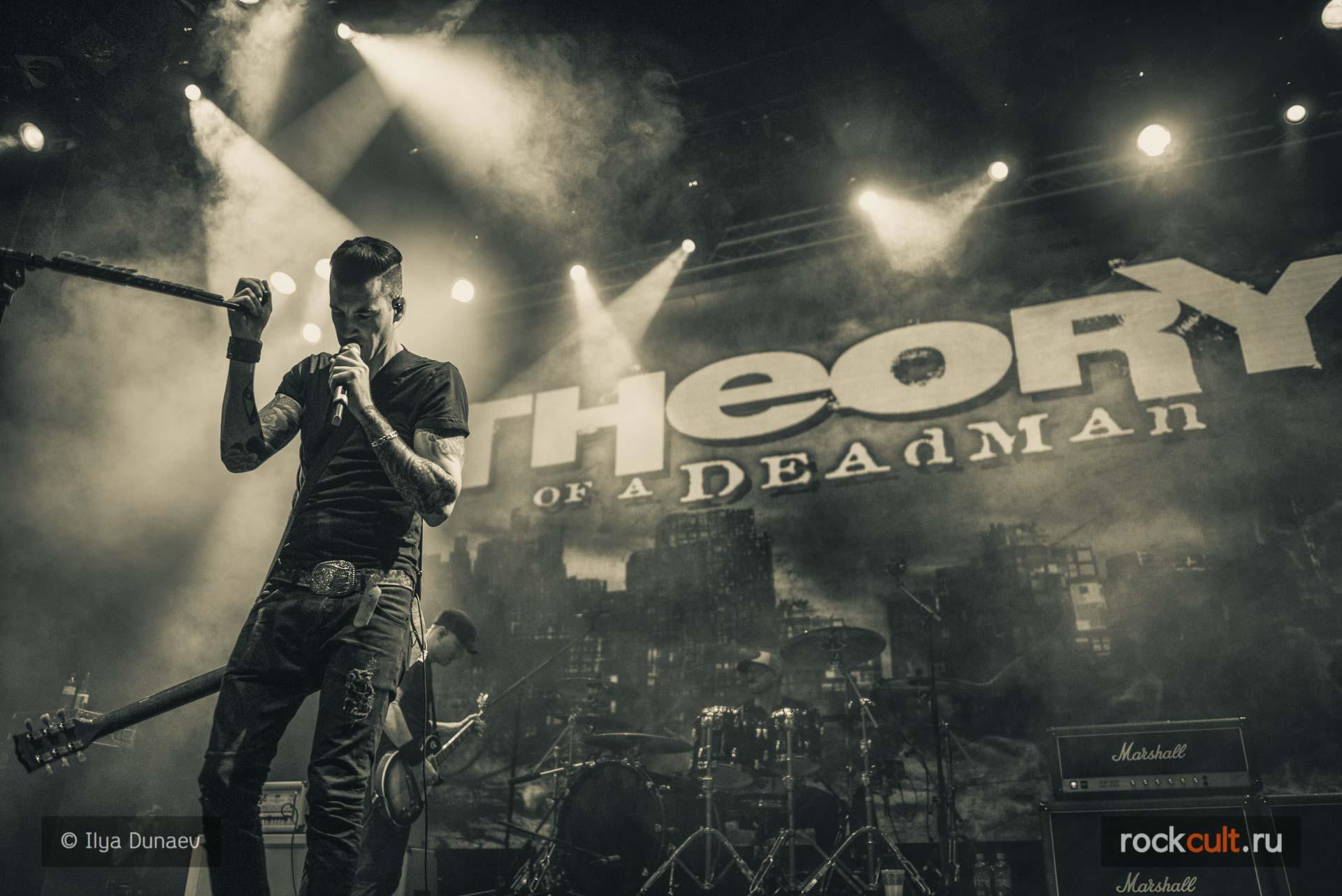 Фотоотчет| Theory Of A Deadman в Москве | Yotaspace | 23.02.2016
