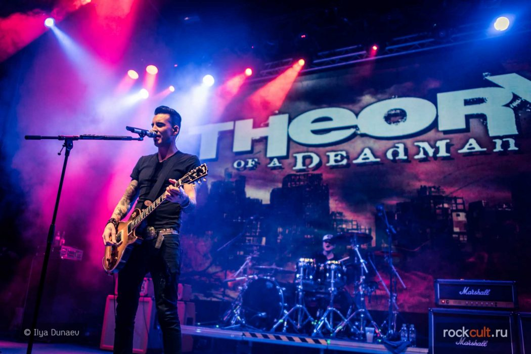 Фотоотчет| Theory Of A Deadman в Москве | Yotaspace | 23.02.2016
