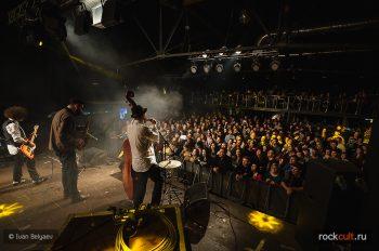 Фотоотчет | Billy`s Band в Москве | Volta | 12.02.2016