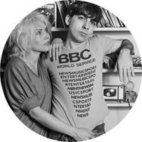debbie harry and chris stein копия