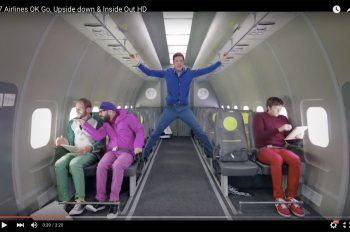 OK Go клип Upside Down & Inside Out