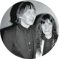 patti smith and fred smith копия