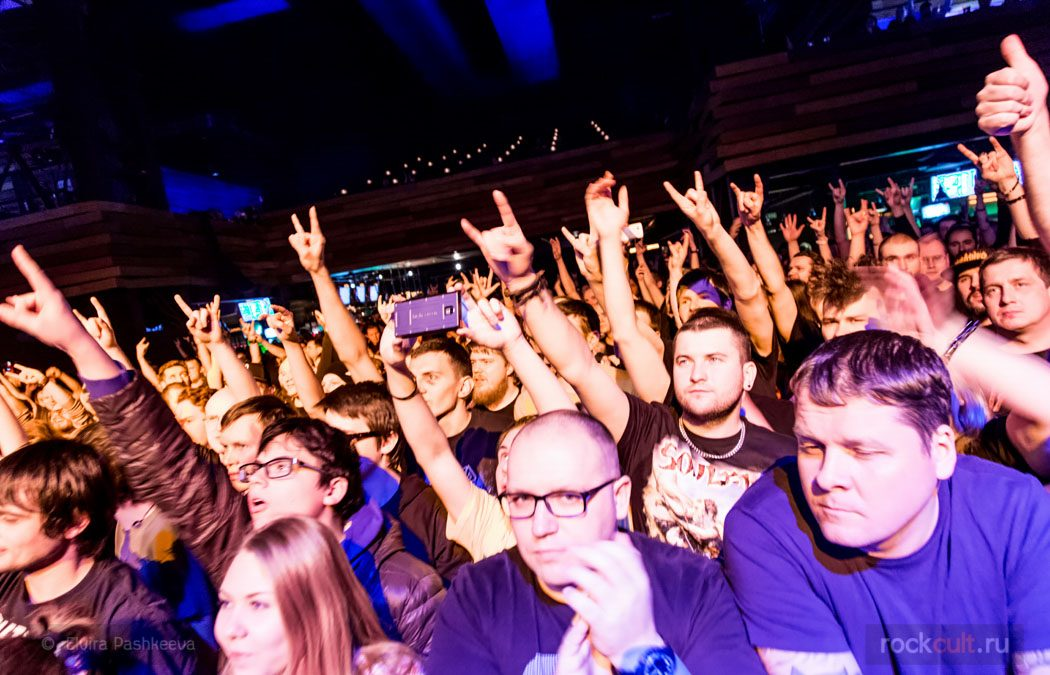 Фотоотчёт | Soulfly в Москве | Yotaspace | 12.03.2016