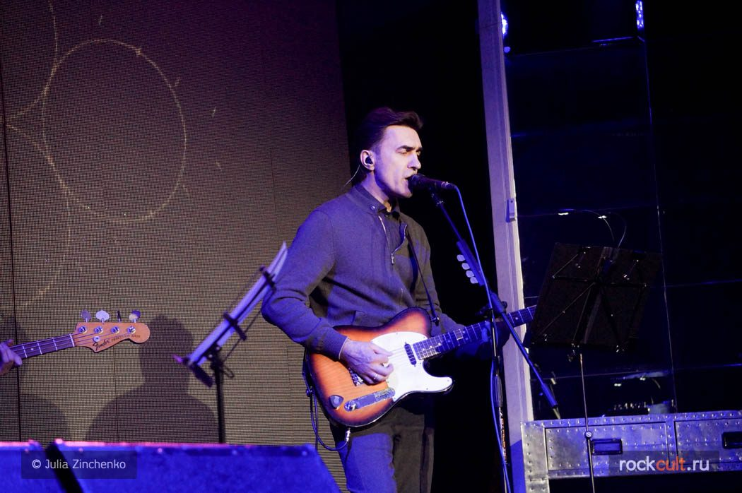 Фотоотчет   Вячеслав Бутусов и Ю-Питер в Москве   Stereo Hall   07.03. 2016