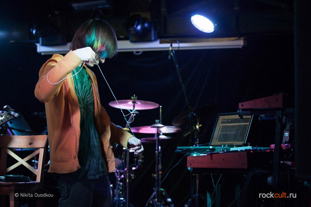 Фотоотчет   Antimatter в Питере   Backstage   05.03.2016