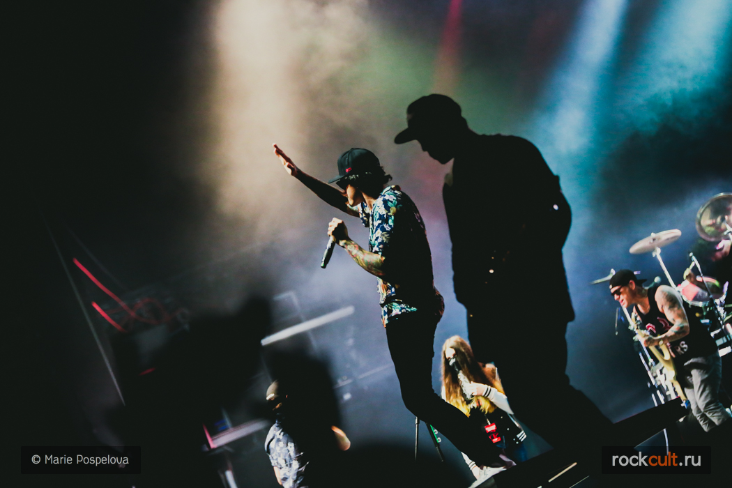 Фотоотчет | Hollywood Undead в Москве | Stadium Live | 03.03.2016