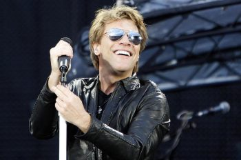 US band Bon Jovi with lead singer Jon Bon Jovi performs at Ullevaal Stadium in Oslo, June 15th, 2011. Photo by Lise Aserud, Scanpix Norway--only italy--Lapresse