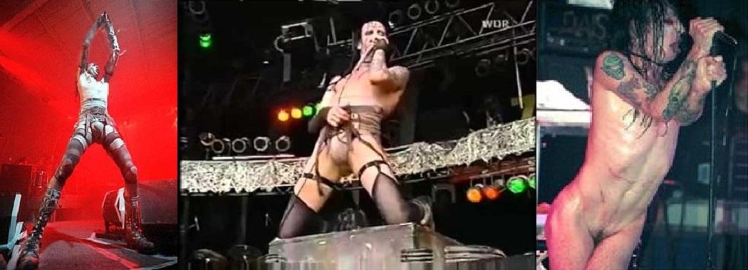 Merilin Manson naked