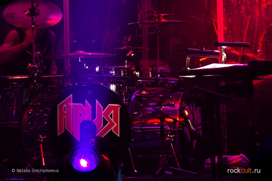 Фотоотчет | Ария в Питере | Ледовый дворец | 22.04.2016