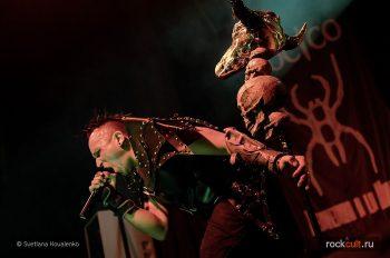 Фотоотчёт | Hocico в Москве | Театръ | 03.04.2016 фото