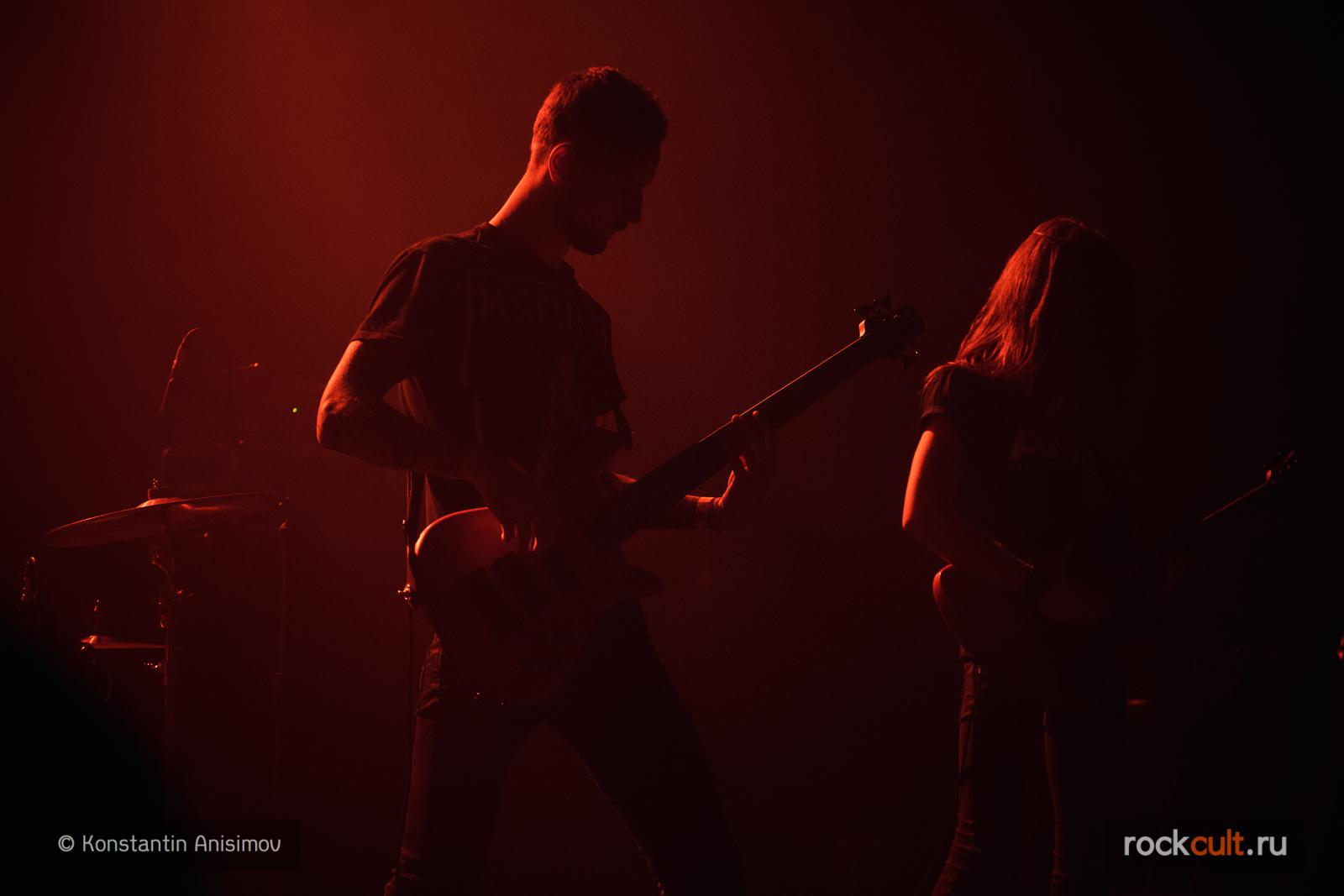 Фотоотчет | Swallow the Sun в Питере| Opera Concert Club | 20.04.2016