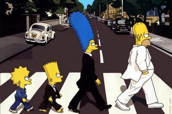 The Simpsons like The Beatles