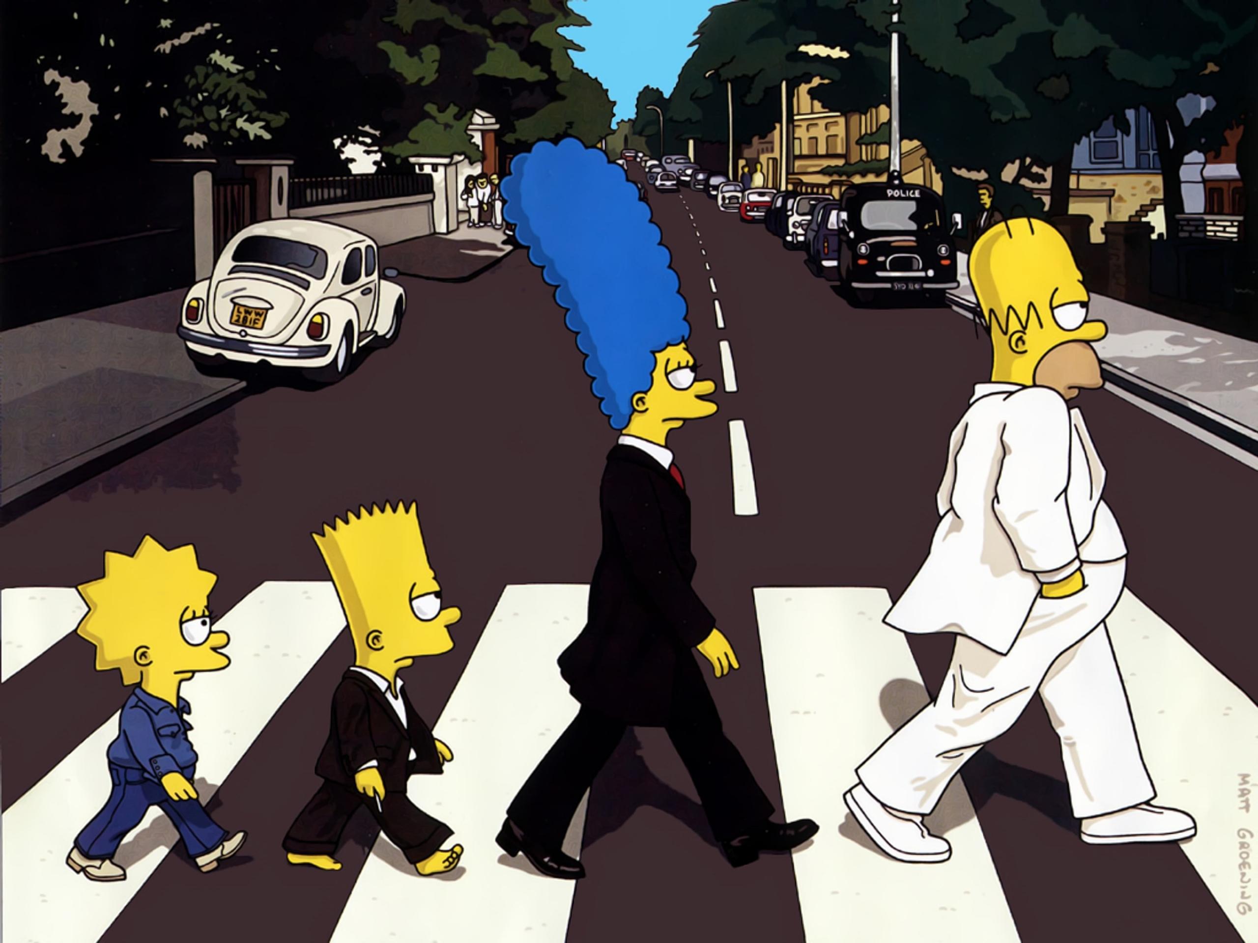 Рок-музыканты в мультсериале The Simpsons (Симпсоны)