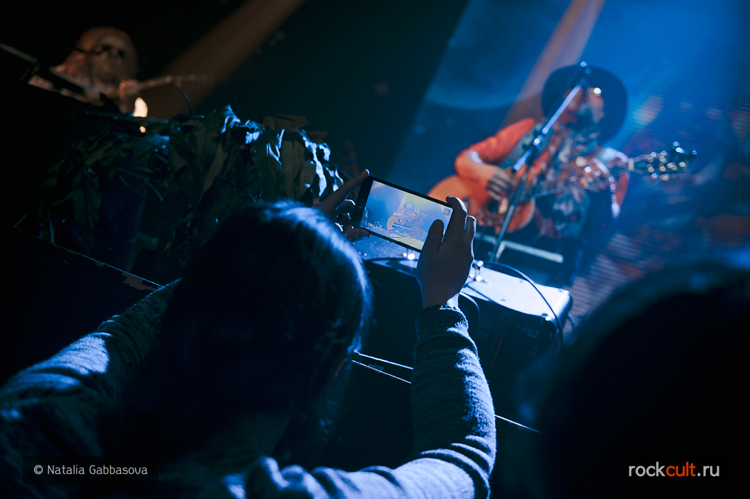 Фотоотчет | Аквариум в Москве | Известия Hall | 22.04.2016