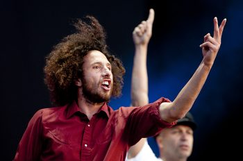 Rage Against the Machine, Download Festival 2010.  Photo by Adam Gasson.