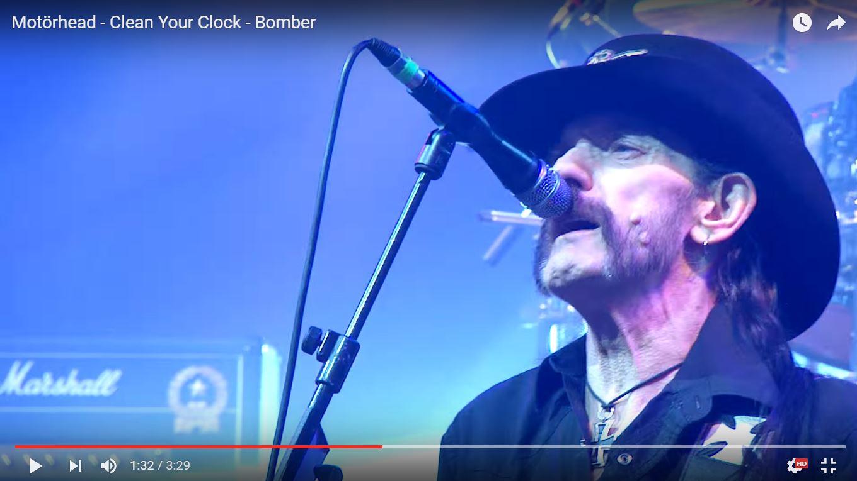 Motorhead опубликовали последнее живое исполнение Bomber