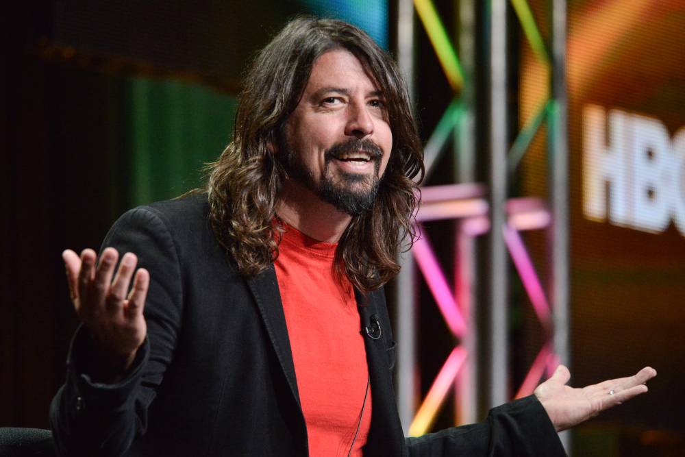 AP TV CRITICS WATCH-DAVE GROHL A ENT USA CA