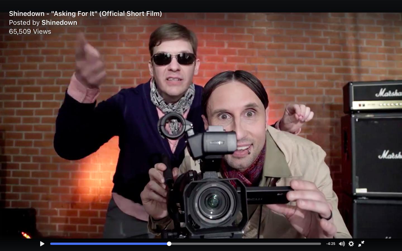 Shinedown выпустили видео на песню Asking For It