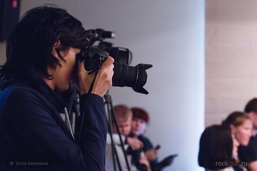 Фотоотчет Пресс-конференция группы Порнофильмы 07.06.2016