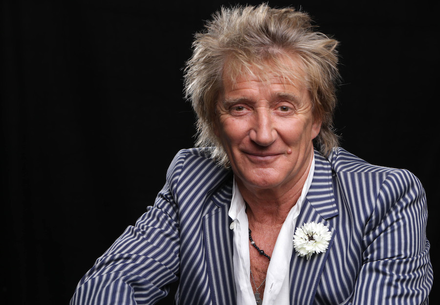 Rod Stewart poses for a portrait on Thursday, May 2, 2013 in Los Angeles. (Photo by Eric Charbonneau/Invision/AP)