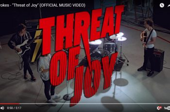 The Strokes-present-video-for-threat-of-joy