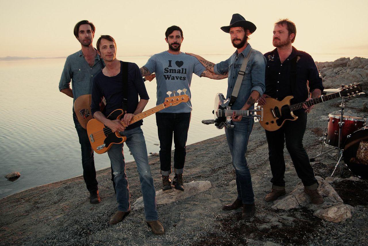 У Band Of Horses вышла новая песня Whatever, Wherever
