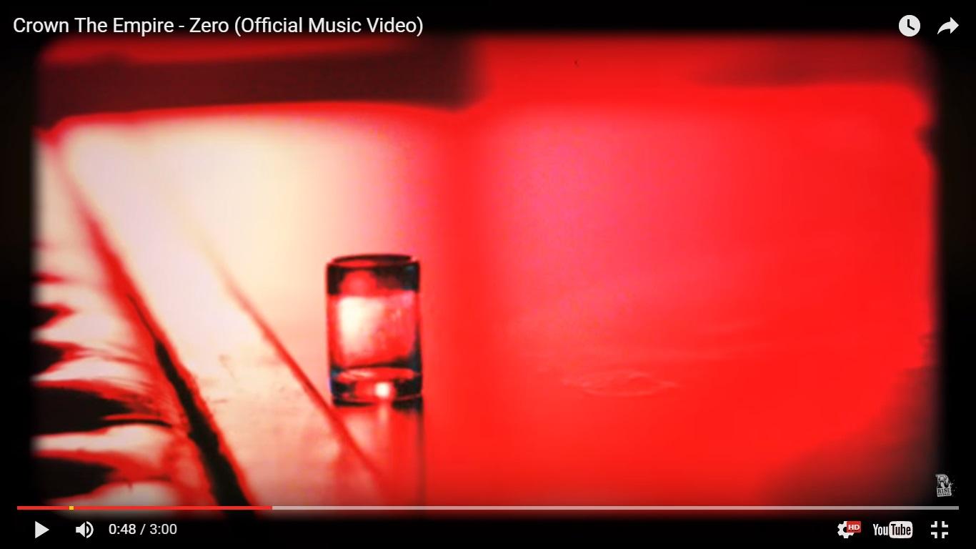 Crown The Empire представили видеоклип на песню Zero