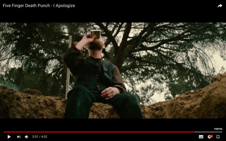 Five Finger Death Punch выпустили клип на песню I Apologize
