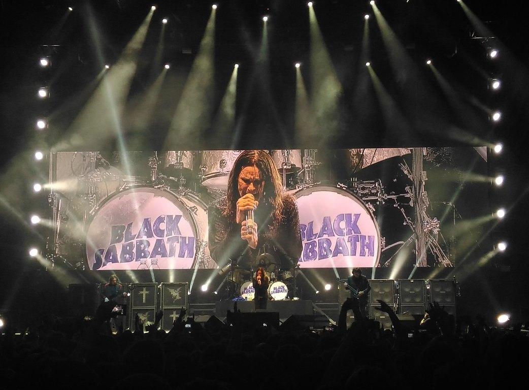 Репортаж Black Sabbath в Москве СК Олимпийский 12.07.2016