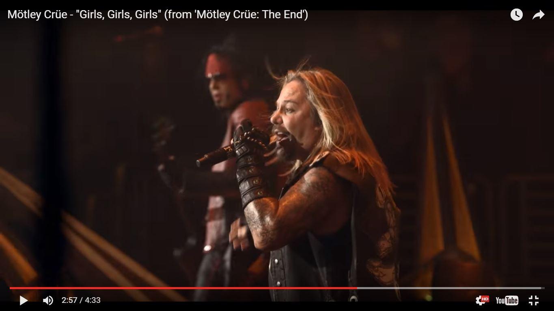 Motley Crue представили фрагмент концертного DVD The End