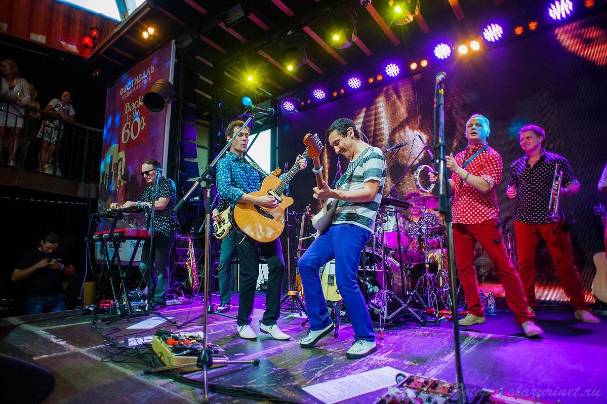 Репортаж Фестиваль Back to the 60's в Москве Gipsy 23.07.2016