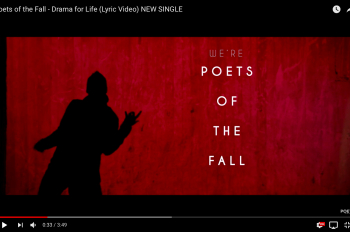 poets of the fall drama for life лирик-видео