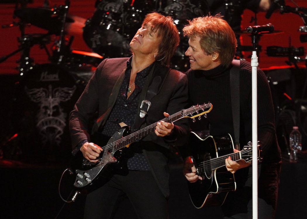 Ричи Самбора и Орианти поздравили Bon Jovi с выходом нового сингла