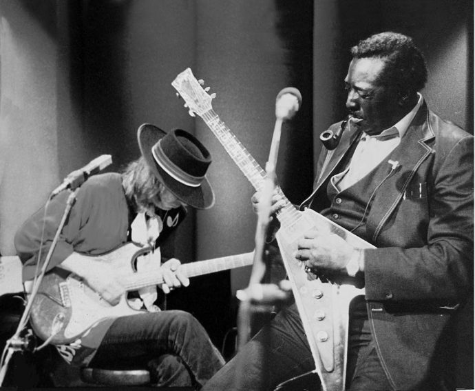 Stevie Ray and Albert King
